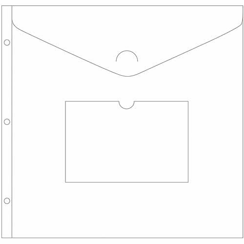 "American Crafts Project Life Big Envelope Pages, 3pk, 12"" x 12"""