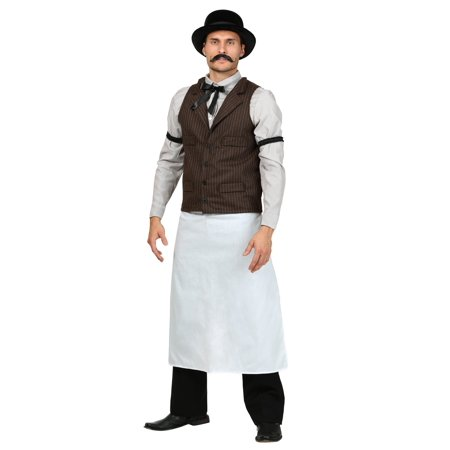 Adult Old West Bartender - Old West Costumes Adults