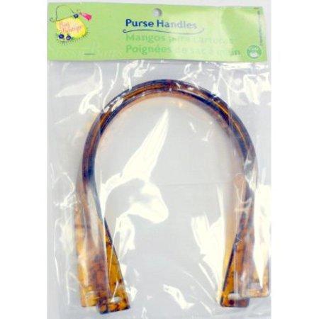 (Dritz Bag Boutique Purse Handle U-Shape Tortoise/Amber (#9885))