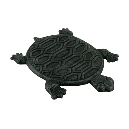 Cast Iron Turtle Garden Stepping Stone Step Tile Garden Green Square Stepping Stone