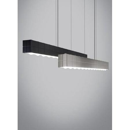 Tech Lighting Biza Linear Suspension, Satin Nickel - 700LSBIZAS-LED