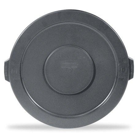Gallon Brute Round Container Lid - Rubbermaid Commercial, RCP263100GY, 32-gallon Brute Container Flat Lid, 1 Each, Gray