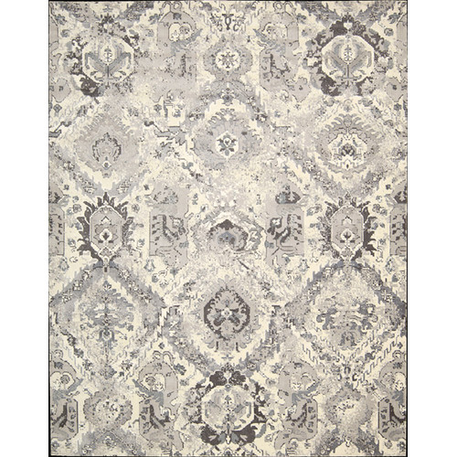 "Nourison  Twilight Ivory/Grey Rug - 7'9"" x 9'9"""