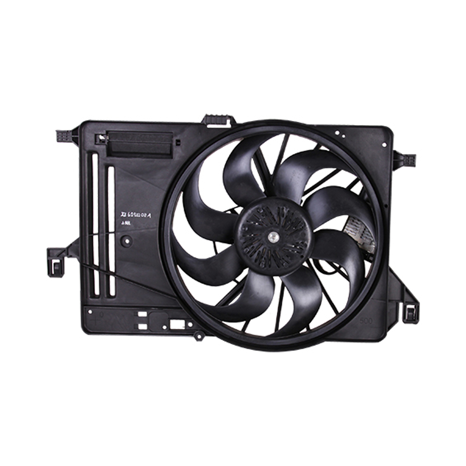 CPP Replacement Engine Cooling Fan Assembly FO3115209 for 2015-2017 Ford Focus