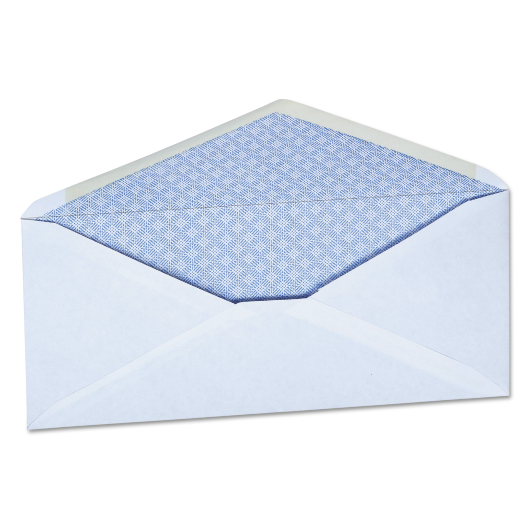 Office Impressions Security Tinted Business Envelope, #10, 4 1/8 x 9 1/2, White, 500/Box