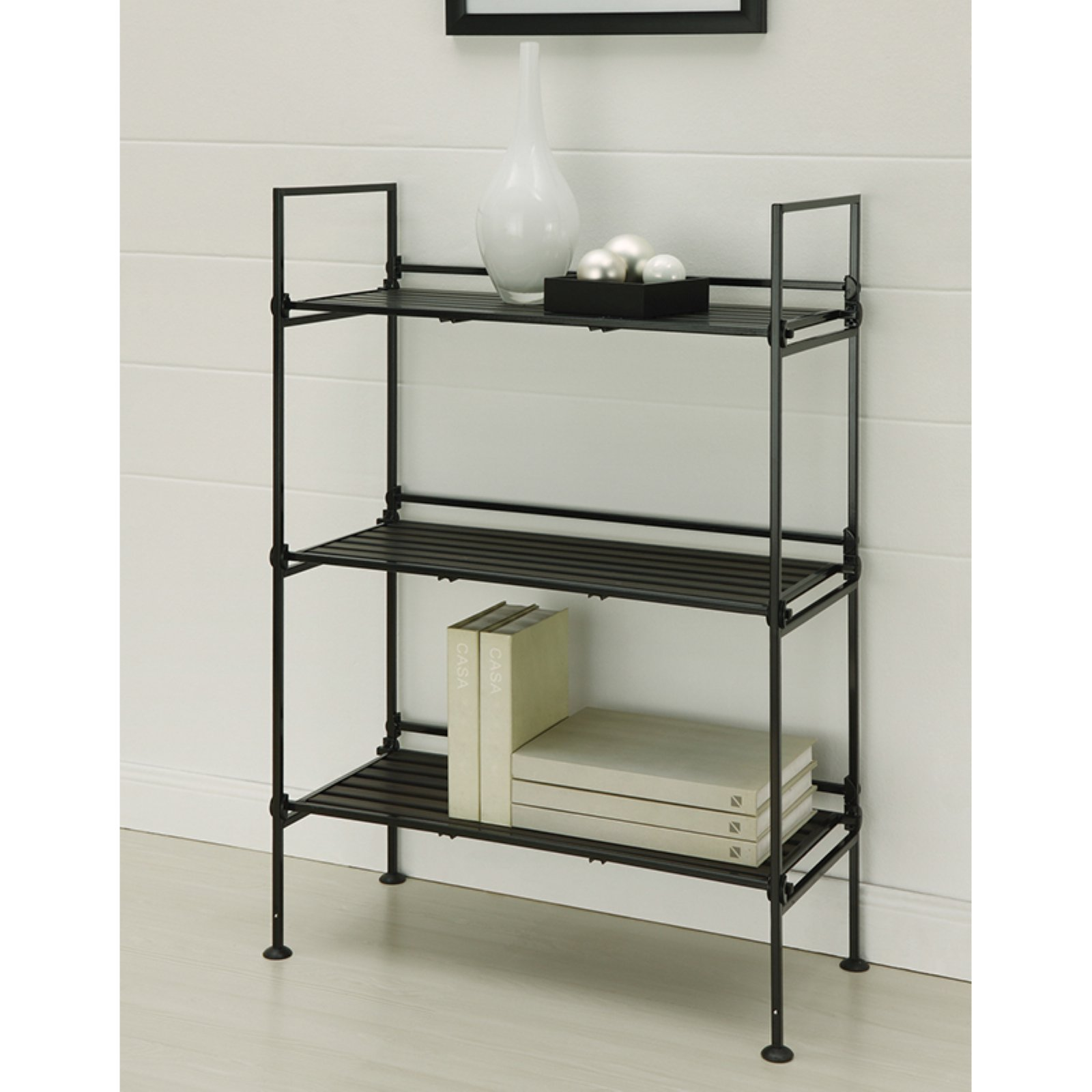Organize It All 97203W-1 3 Tier Shelf