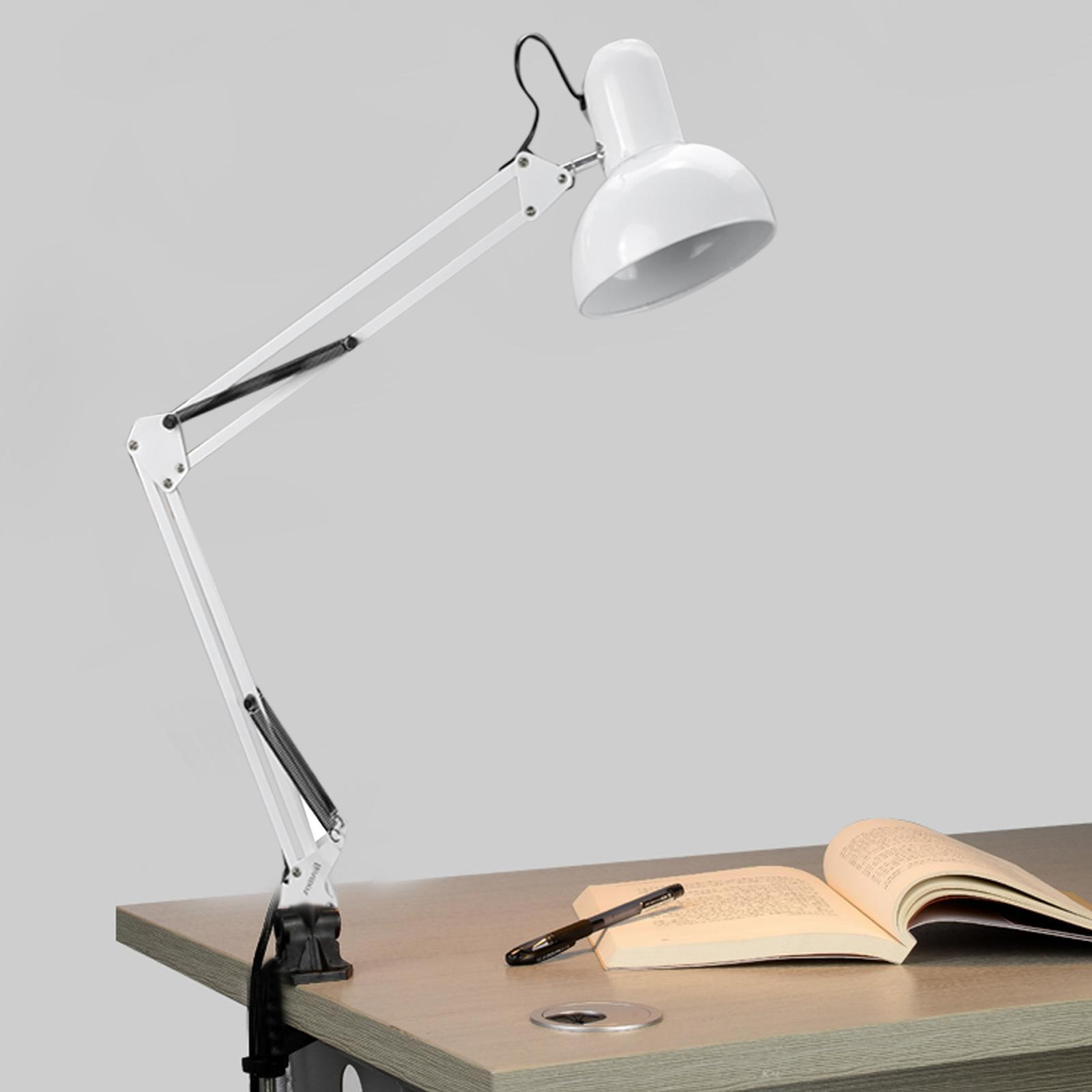Adjustable Swing Arm Lamp Classic Architect Clamp-on Desk Lamp Light (Bulb excluded) DADEA by