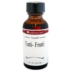 Tutti-Frutti LorAnn Hard Candy Flavoring Oil 1 oz