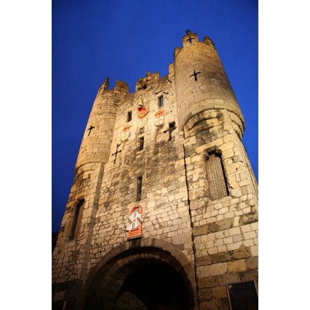 LAMINATED POSTER Medieval England United Kingdom Tower Castle York Poster Print 24 x 36 - Medieval Castle Decorations