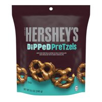 Hershey's, Milk Chocolate Dipped Pretzels, 8.5 Oz.