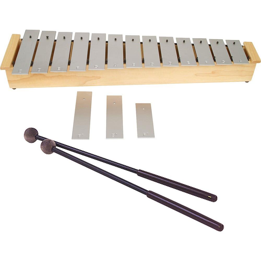 Lyons Wide Bar Diatonic Alto Glockenspiel with Mallets by Lyons