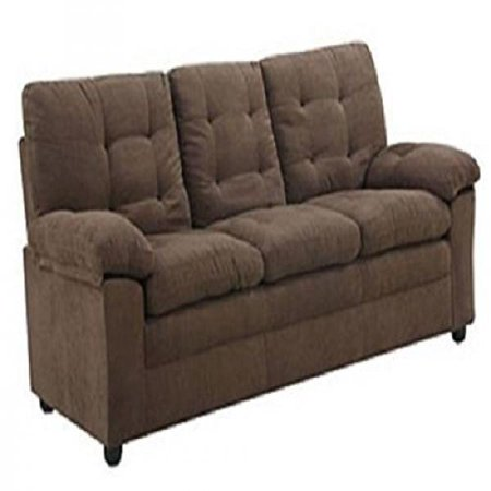 Buchannan Microfiber Sofa Dark Chocolate