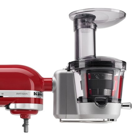 KitchenAid RKSM1JA (CERTIFIED REFURBISHED) Juicer or Juice Extractor and Sauce Attachment for Stand (Best All Around Juicer)