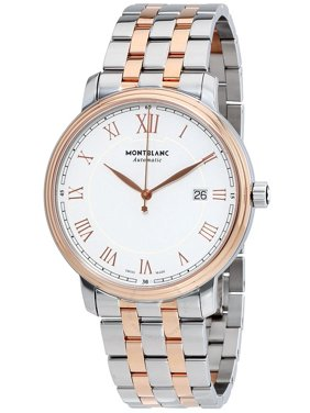MontBlanc Tradition Automatic White Dial Men's Watch 114337