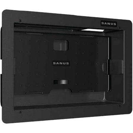 Sanus SA809-B1 Recessed Component Box, 6 Components Datacomm Recessed Media Box