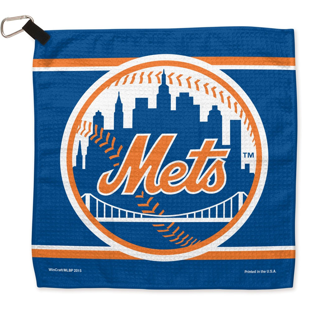 """New York Mets WinCraft 13"""" x 13"""" Waffle Towel - No Size"""