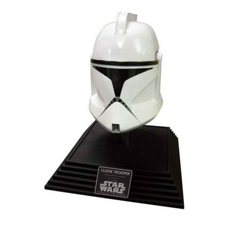 Star Wars Clone Trooper Helmet with Base](Aunt Viv Halloween)