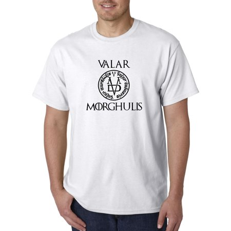 New Way 690 - Unisex T-Shirt Valar Morghulis All Men Must Die Valyrian Game Of (Game Of Thrones Impin Ain T Easy)