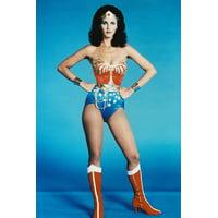 Lynda Carter Wonder Woman Red Boots Leggy Busty 24x36 Poster