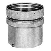 "Metalbest 10QC-DH Galvanized Qc 10"" Type B Gas Vent Draft Hood Connector"