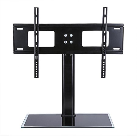 """EECOO 37""""-55"""" Universal LCD TV Stand Mount Bracket, LCD Flat Screen TV Table Top Stand"""