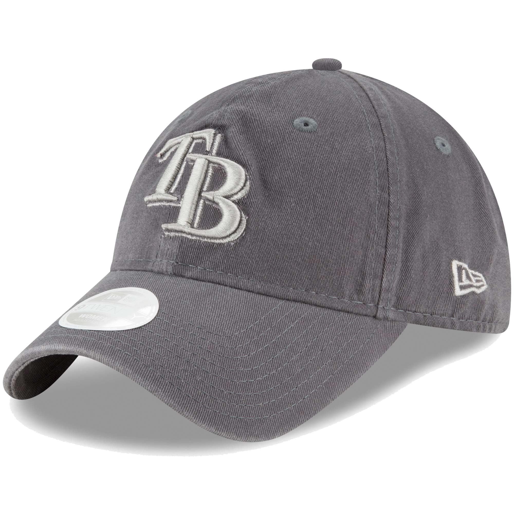 Tampa Bay Rays New Era Women's Preferred Pick 9TWENTY Adjustable Hat - Graphite - OSFA