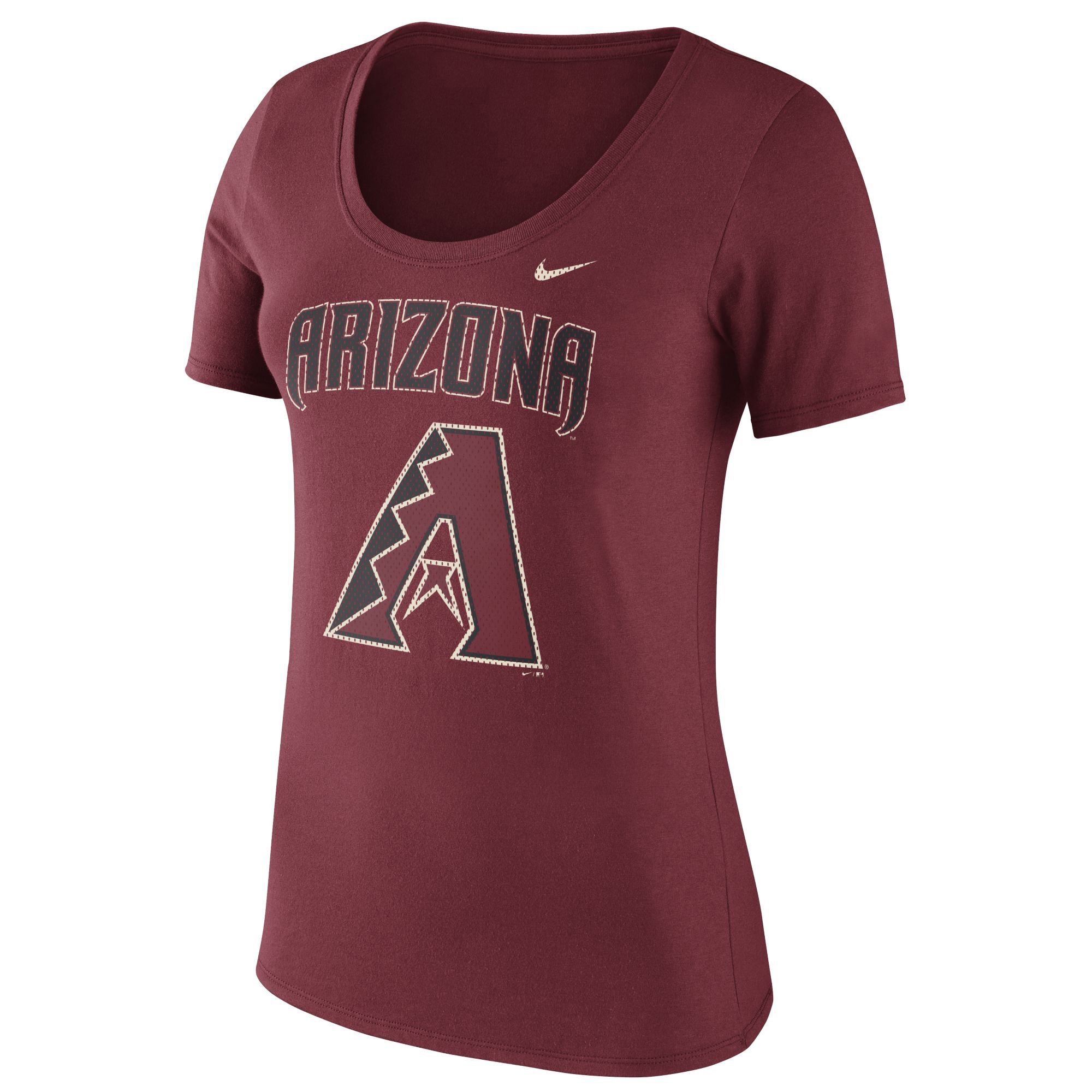 Women's Nike Red Arizona Diamondbacks Core T-Shirt