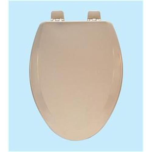 Centoco 900-106-A Wood Elongated Toilet Seat, Bone