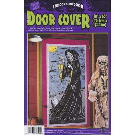 Grim Reaper Door Cover Decoration - Grim Reaper Decorations
