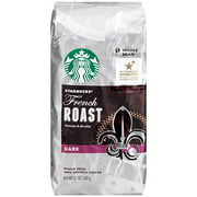 Starbucks French Roast Whole Bean Coffee, 12 oz