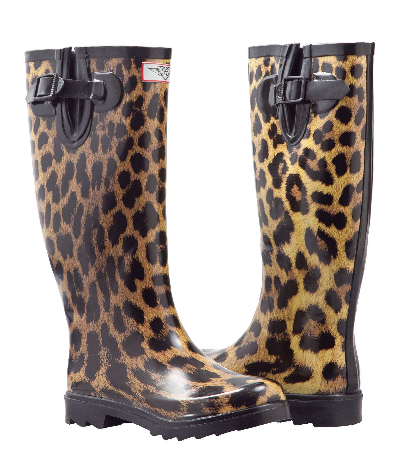 Women Rubber Rain Boots with Cotton