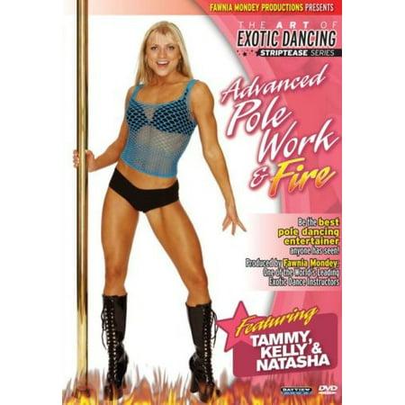 Striptease Series: Advanced Pole Dancing & Fire (DVD)