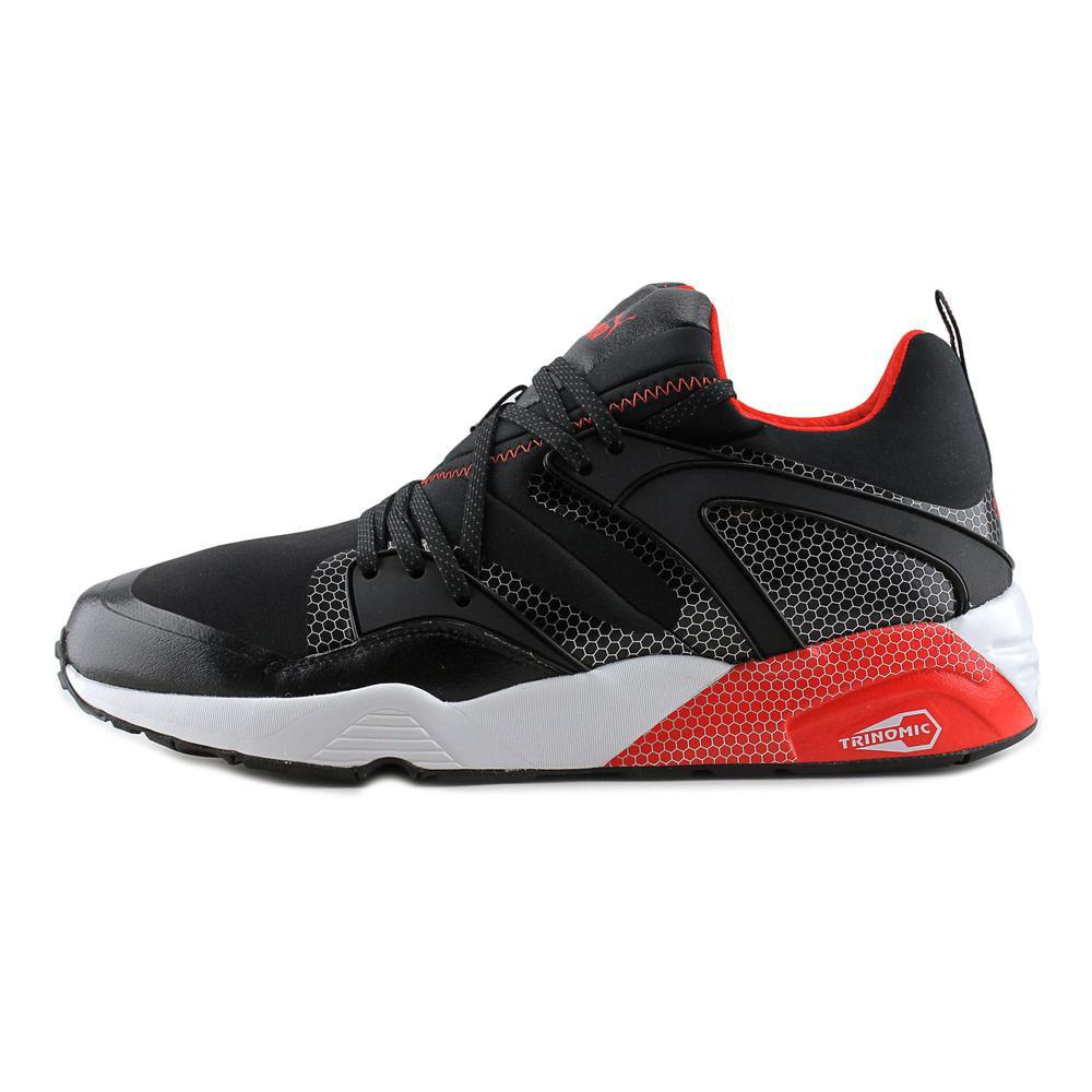 Puma Men's Blaze Of Glory Core Black / High Risk Red Ankle-High Running Shoe  - 8M - Walmart.com