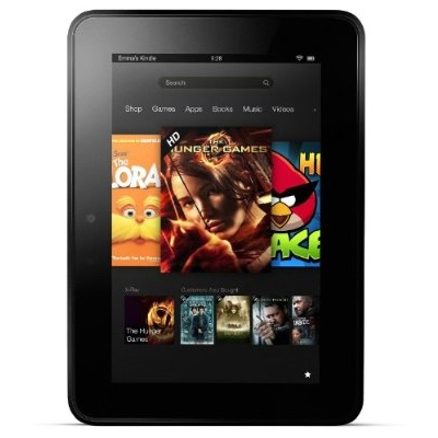 Refurbished Kindle Fire HD 16GB 7 Inch Tablet w/ Special Offers - Black - WiFi