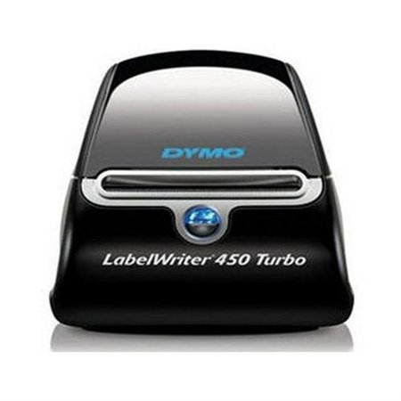 Dymo Buy One LabelWriter 450 Turbo Pt#1752265, Get Quantity 5 Address Labels Pt#30252 Free 1752265-30252 by