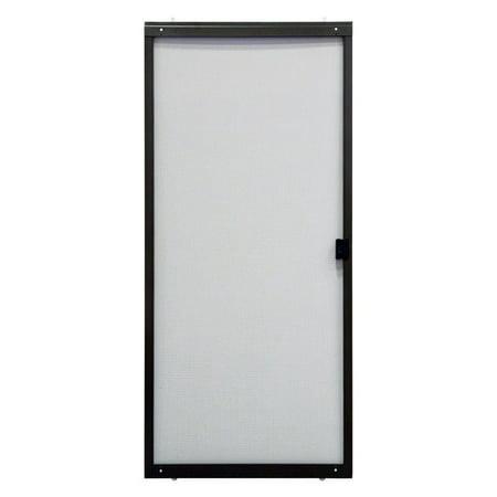 11 Sliding Screen Door - Superior Breezeway Series Roll Form Adjustable Sliding Steel Screen Door 30