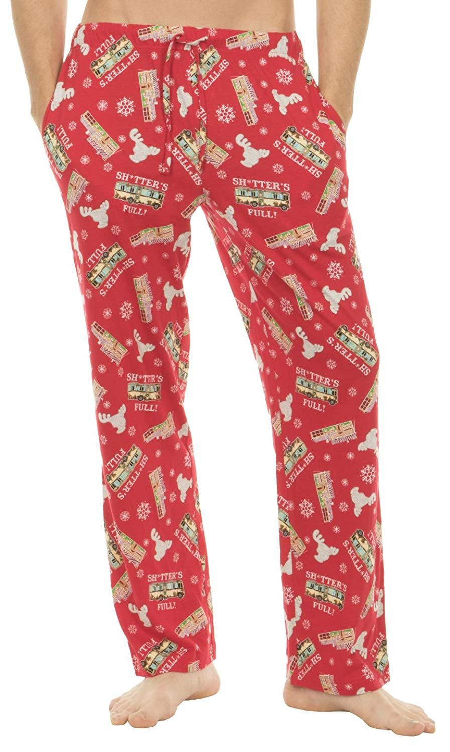 BRAND NEW MEN/'S NATIONAL LAMPOON CHRISTMAS VACATION SLEEP PANTS IN A CAN COOLER