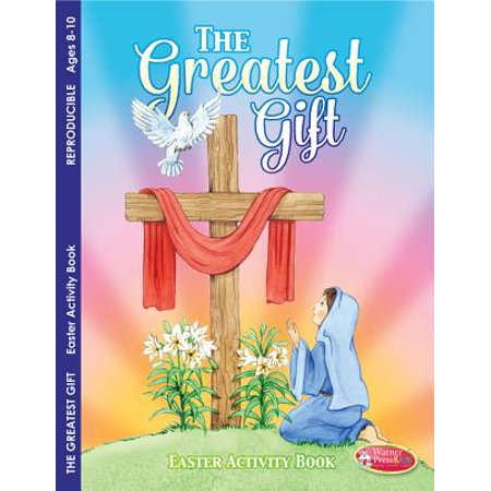 The Greatest Gift: Easter Activity Book for Ages 8-10 (Pack of