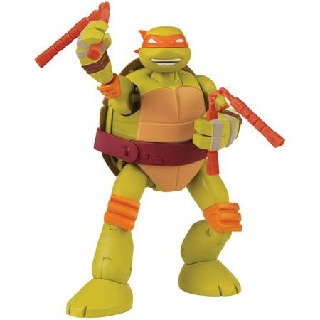 Teenage Mutant Ninja Turtles Mutations Pet To Ninja Michelangelo Action Figure - Girl Teenage Mutant Ninja Turtles