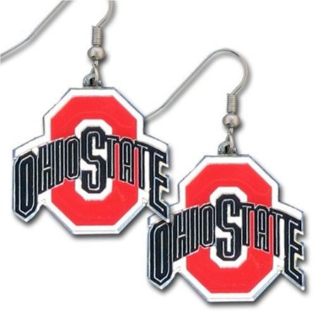 NCAA Ohio State Buckeyes Dangle Earrings, Officially licensed College product Licensee: Siskiyou Buckle By
