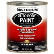 Rust-Oleum Automotive Enamel, Jet Black, 1 qt