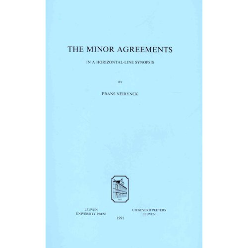 The Minor Agreements in a Horizontal-Line Synopsis.