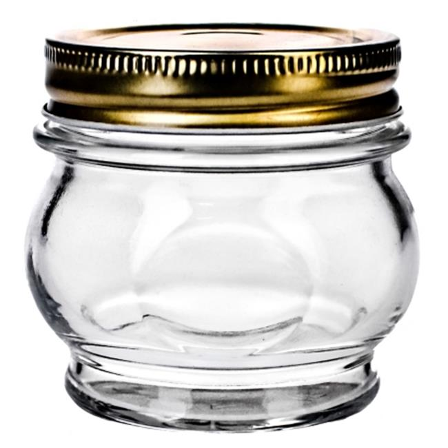 Global Amici Prm 7AB150 5. 5 Oz Canning Jar Pack Of 6
