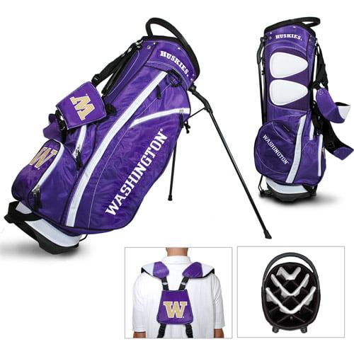 Team Golf NCAA Washington Fairway Golf Stand Bag by Generic