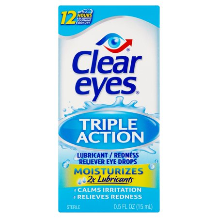 Triple Action Eye Relief Drops 050 oz