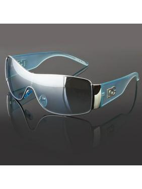 4009b1ec4a21 Product Image DG Eyewear Fashion Designer Shield Sunglasses Mens Womens  Black Retro Shades