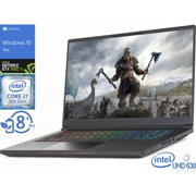 "Intel Whitebook Gaming Notebook, 15.6"" 144Hz FHD Display, Intel Core i7-9750H Upto 4.5GHz, 16GB RAM, 1TB NVMe SSD, NVIDIA GeForce GTX 1660 Ti, HDMI, Thunderbolt, Wi-Fi, Bluetooth, Windows 10 Pro"