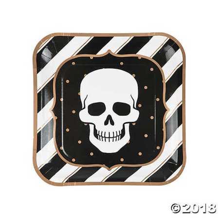 Glitz-O-Ween Dinner Plates HALLOWEEN PARTY](Halloween Dinner)