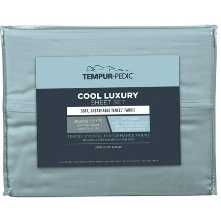 Tempur-Pedic  Cool Luxury Sheet Set (Tempurpedic Sheets King)