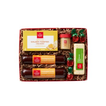 Hickory Farms 9-Piece Holiday Tradition Gift Box